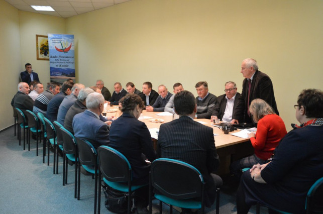 Spotkanie samorządu rolniczego w sprawie prywatyzacji gruntów - Zdjęcie główne