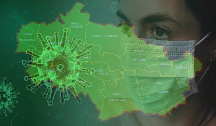 Koronawirus: kolejne zakażenia w powiecie kutnowskim - Zdjęcie główne