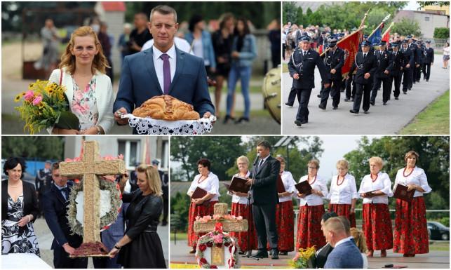 [ZDJĘCIA] Święto plonów w gminie Dąbrowice. ''Ten chleb jest Twój i mój'' - Zdjęcie główne