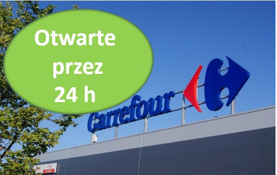 Do Carrefoura przez całą dobę?  - Zdjęcie główne