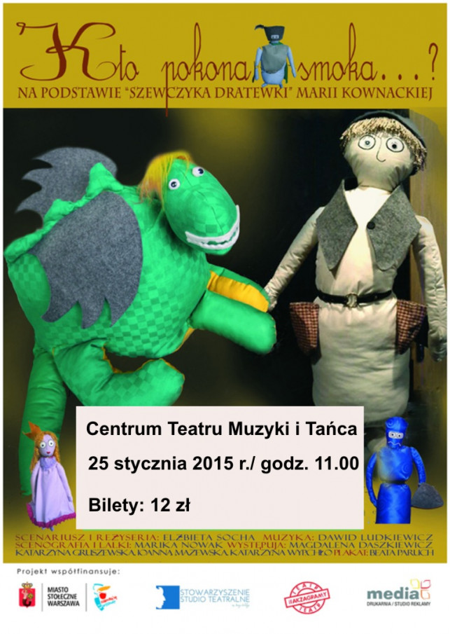 Poranki Teatralne dla dzieci w CTMiT - Zdjęcie główne
