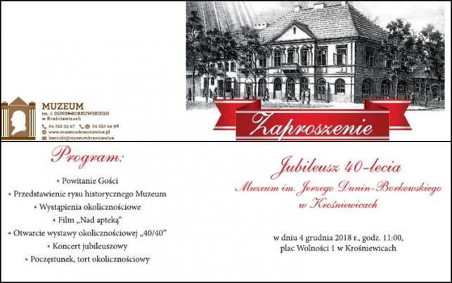 40-lecie Muzeum w Krośniewicach - Zdjęcie główne