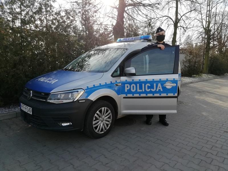 [ZDJĘCIA] Do kutnowskiej komendy trafił nowy radiowóz. Zobacz, jak wygląda - Zdjęcie główne