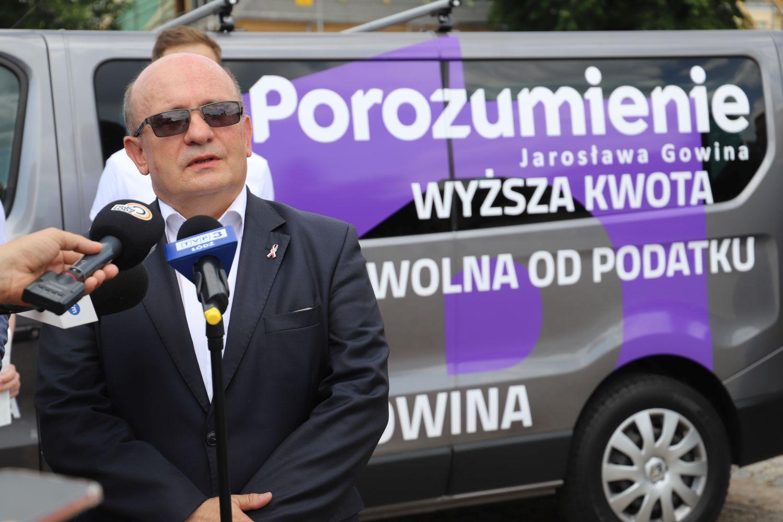 Zaskakujący transfer działacza kutnowskiej Platformy. Janusz Pawlak dołącza do drużyny Gowina [ZDJĘCIA] - Zdjęcie główne
