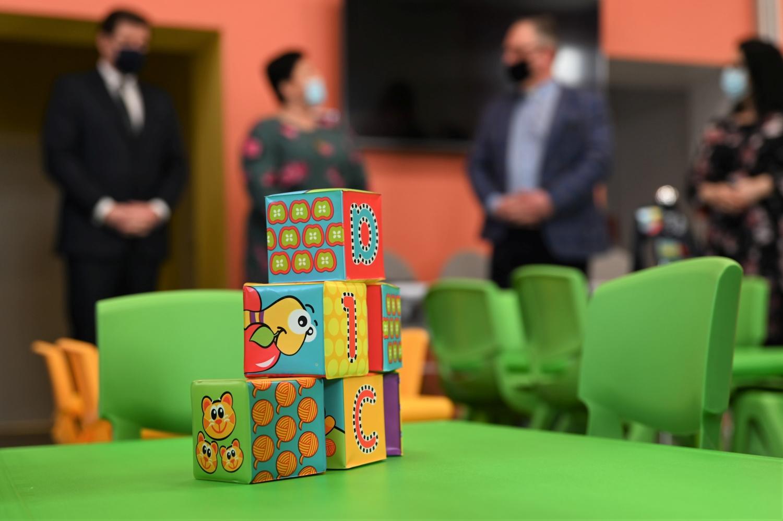 [FOTO] Wojewoda i senator na otwarciu klubu dziecięcego. To pierwszy taki punkt w całej gminie - Zdjęcie główne