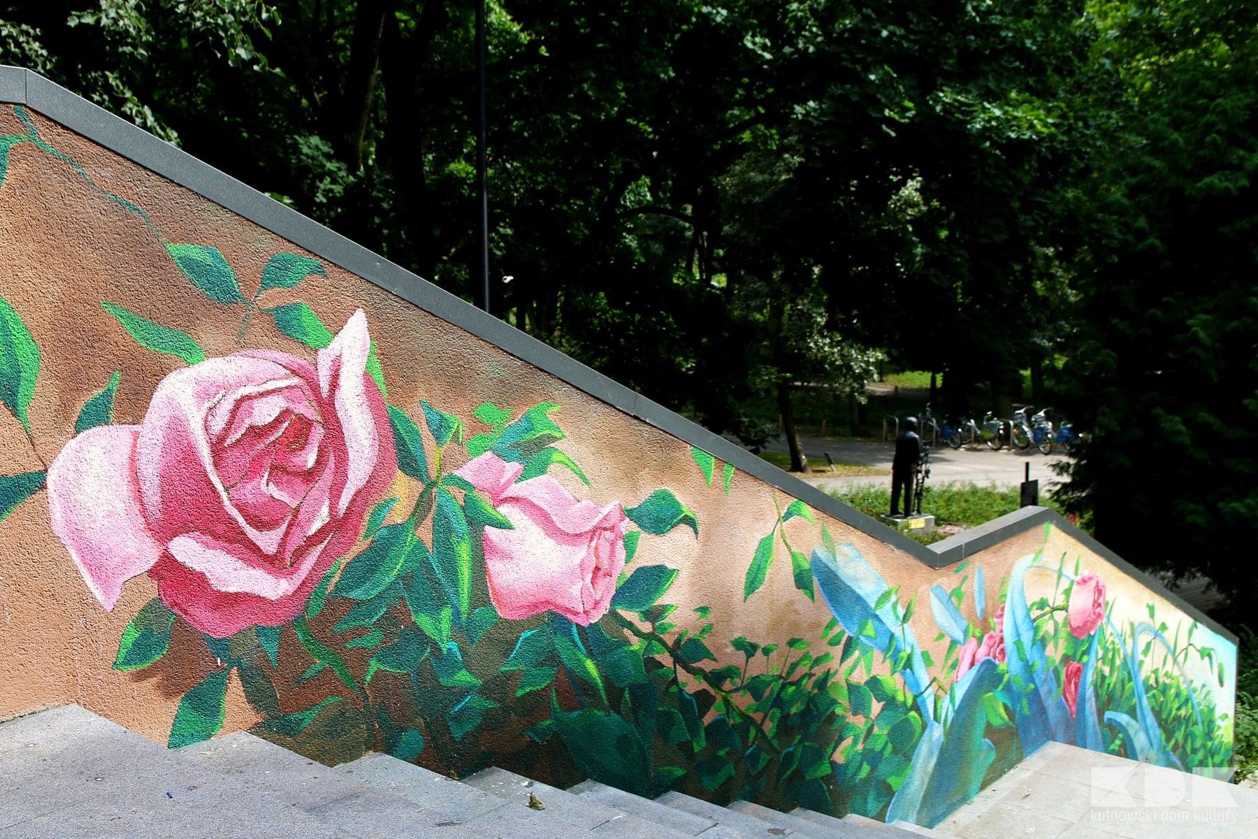 [ZDJĘCIA] Te schody będą się wyRóżniać! Zobaczcie, co zmieniło się w Parku Traugutta - Zdjęcie główne