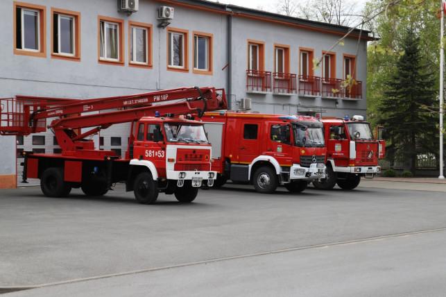 Sześciu strażaków odizolowanych. Czekają na wyniki testu, trwa dezynfekcja komendy - Zdjęcie główne