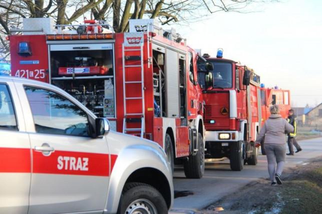 Strażacy w akcji - pożar wybuchł w domu jednorodzinnym! - Zdjęcie główne