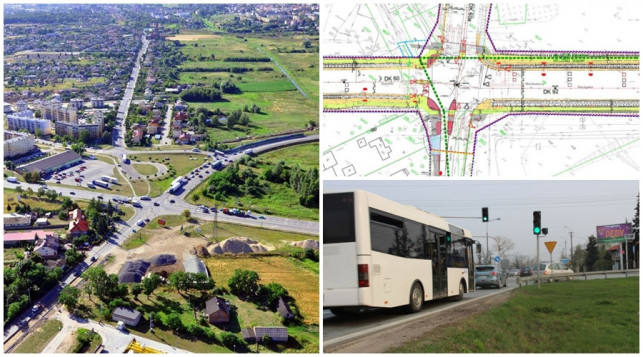 Kolejny problem z przetargiem - przebudowa skrzyżowania na Łąkoszynie znów się oddala - Zdjęcie główne