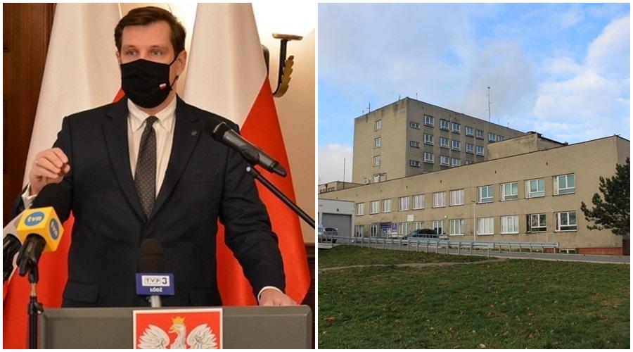 """Ważna decyzja ws. kutnowskiego szpitala. Zmniejsza się liczba łóżek """"covidowych"""" - Zdjęcie główne"""