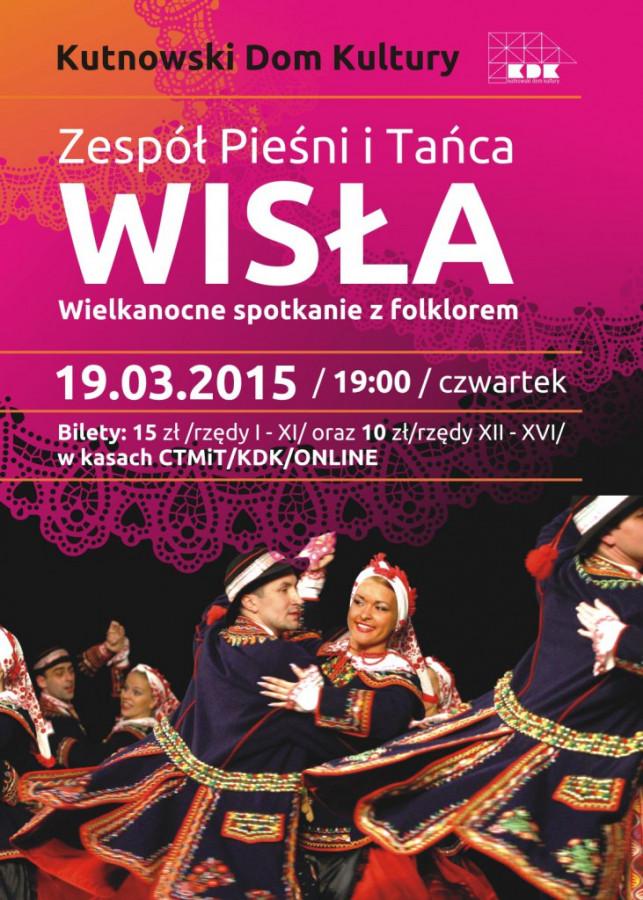 Koncert Zespołu Pieśni i Tańca Wisła - Zdjęcie główne
