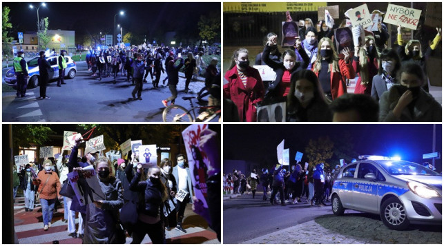 [ZDJĘCIA] Wielki protest w Kutnie. Kilkaset osób zablokowało miasto - Zdjęcie główne