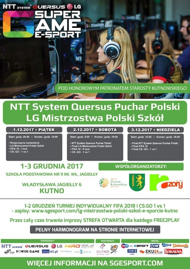 Puchar Polski i mistrzostwa Polski szkół w e-sporcie - Zdjęcie główne