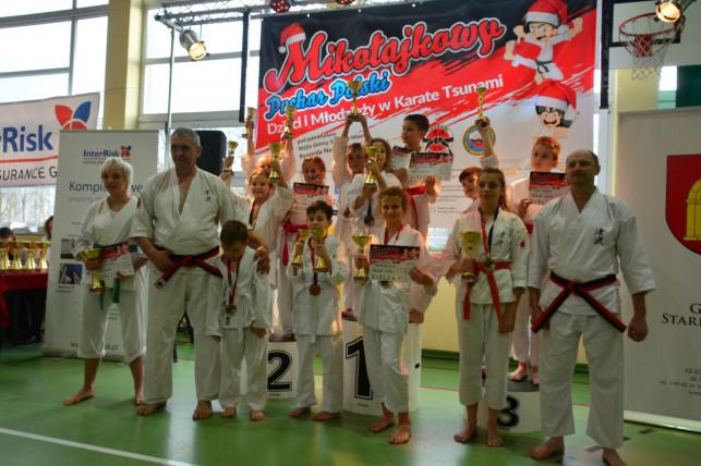 Kutnowscy karatecy na mikołajkowych mistrzostwach - Zdjęcie główne