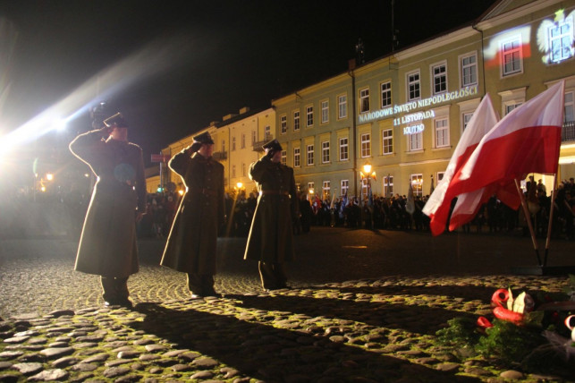 [ZDJĘCIA] Niech żyje niepodległa Polska! Kutno czci pamięć bohaterów - Zdjęcie główne