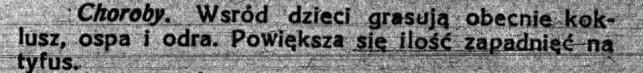 Odra, koklusz, tyfus... Sto lat temu Kutno też walczyło z chorobami zakaźnymi!   - Zdjęcie główne