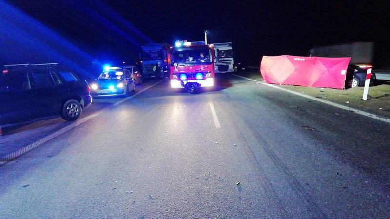 [FOTO] Śmierć na A1. Wiadomo, co ustaliła kutnowska policja - Zdjęcie główne