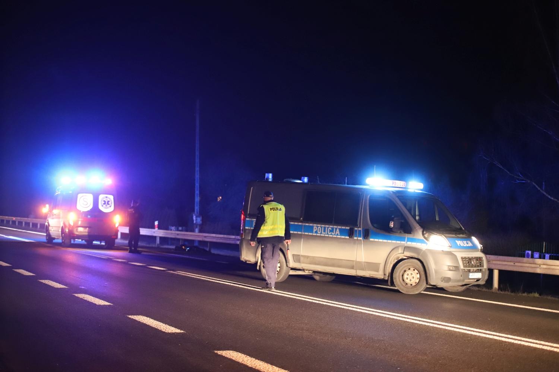 Śmiertelny wypadek na drodze krajowej. Jest komentarz policji - Zdjęcie główne