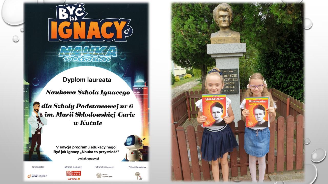 Tytuł Naukowej Szkoły Ignacego dla SP nr 6 w Kutnie [ZDJĘCIA]  - Zdjęcie główne