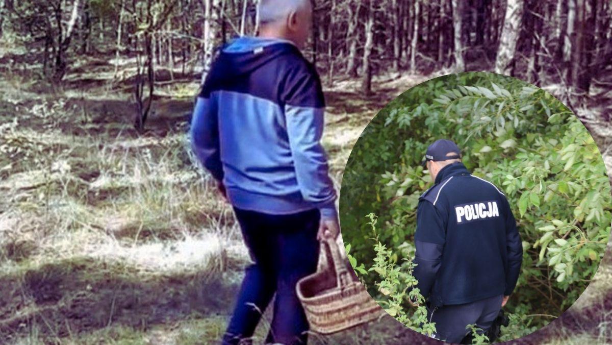 Wystraszony staruszek błądził w lesie pod Płockiem. Nikt nie chciał mu pomóc, a nawet wmawiali mu, że jest w Kutnie - Zdjęcie główne