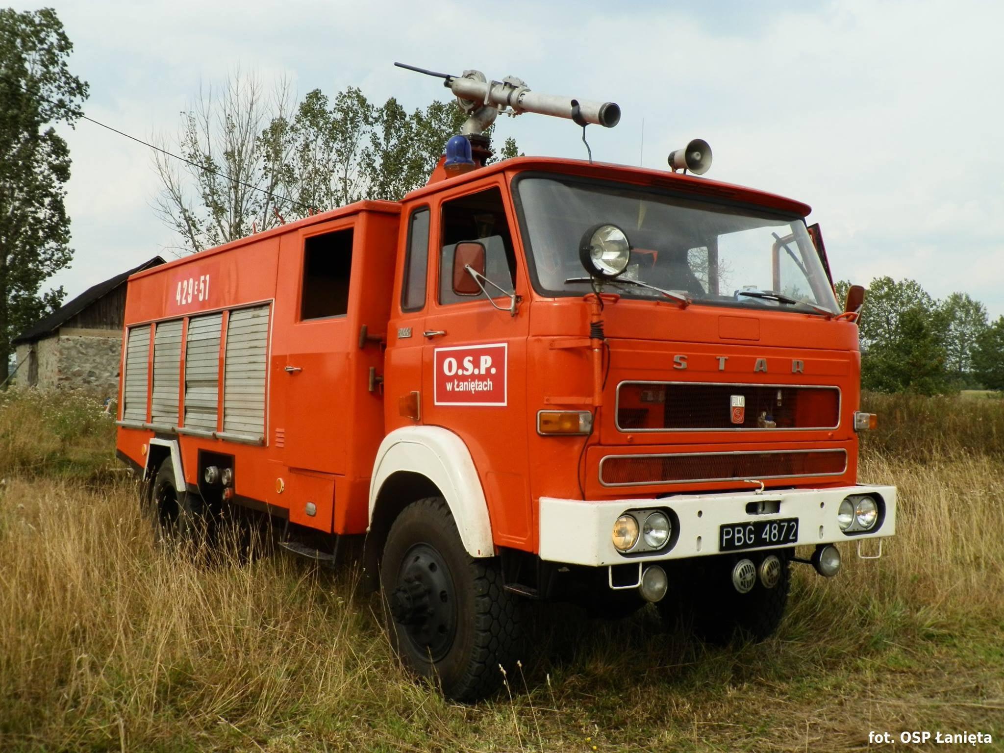 """Strażacy z OSP proszą o wsparcie. """"Staruszek"""" już niedomaga, potrzebny zakup nowego wozu - Zdjęcie główne"""