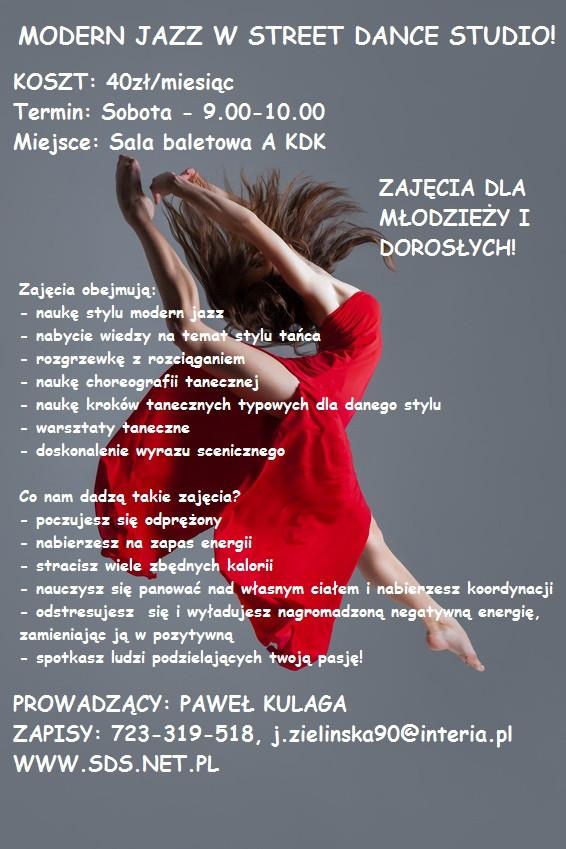 MODERN JAZZ Z PAWŁEM KULAGĄ! - Zdjęcie główne