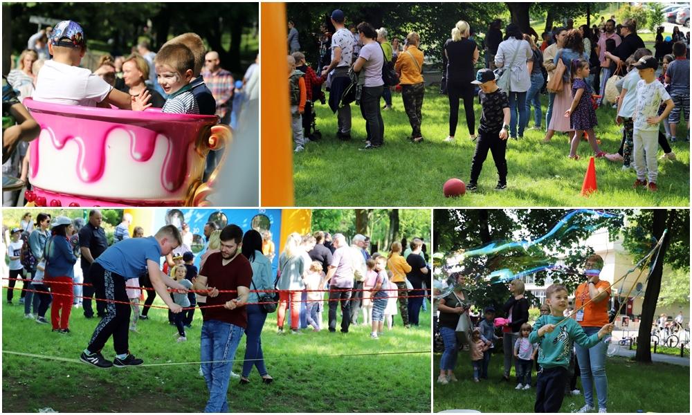 [ZDJĘCIA] Wielka rodzinna zabawa w parku Traugutta. Trwa Dzień Dziecka z KDK-iem - Zdjęcie główne