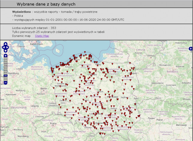 [FOTO/WIDEO] Polska Aleja Tornad. Czy trąby powietrzne mogą uderzyć w Kutno? - Zdjęcie główne