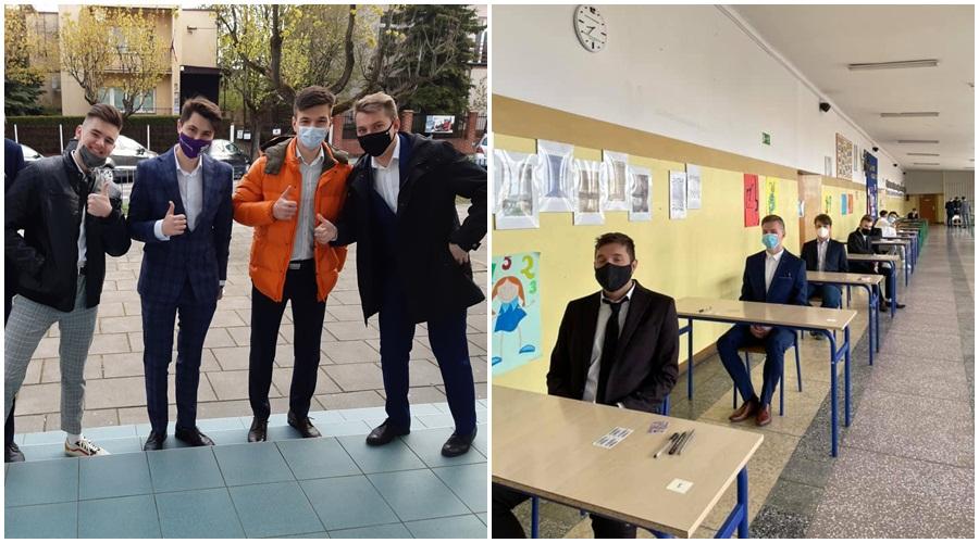 Matury z COVID-19 w tle. Jak przebiegają egzaminy w kutnowskich szkołach? [ZDJĘCIA] - Zdjęcie główne