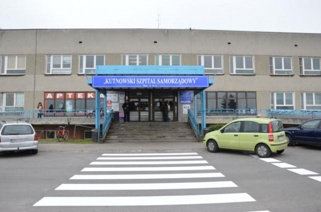 Tragedia w kutnowskim szpitalu. Pacjent wypadł przez okno - Zdjęcie główne