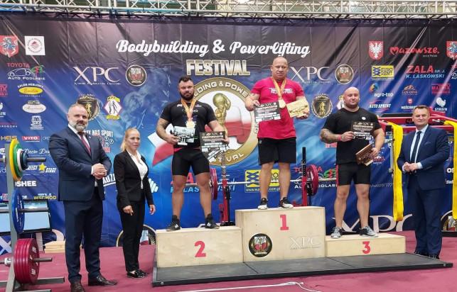 [ZDJĘCIA] Kutnowska siła! Nasi trójboiści medalistami Mistrzostw Europy! - Zdjęcie główne