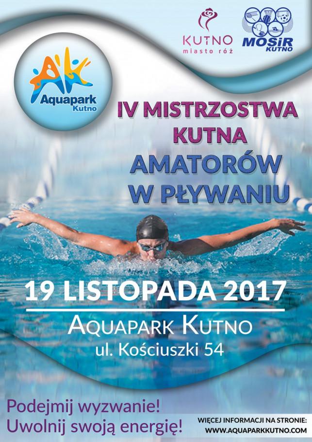 IV Mistrzostwa Kutna amatorów w pływaniu - Zdjęcie główne