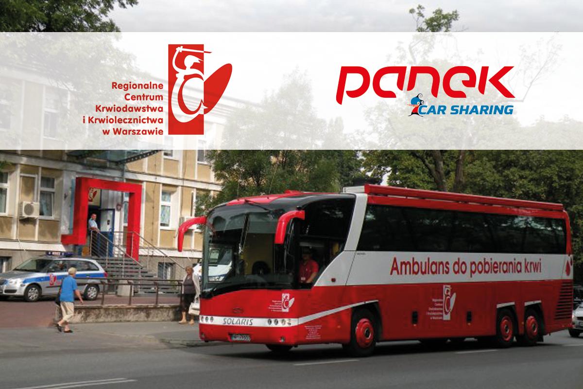 Oddaj krew z PANEK CarSharing - Zdjęcie główne