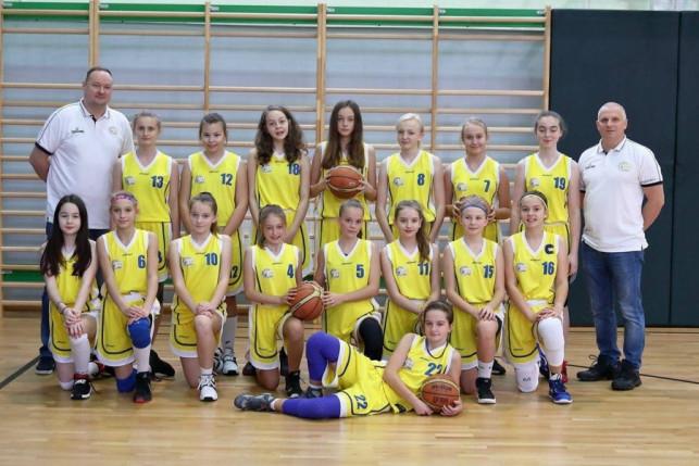Młodziczki Młodsze KKS Pro-Basket Kutno lepsze od Szkoły Gortata Łódź  - Zdjęcie główne