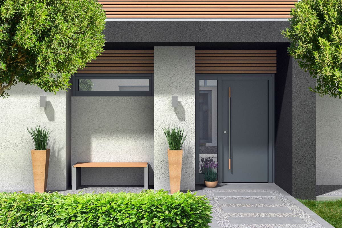 Nowoczesne drzwi wejściowe Reveal – odmień oblicze domu na wiosnę! - Zdjęcie główne