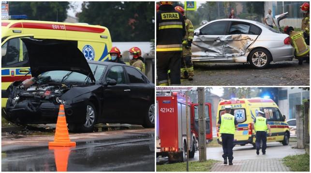 [ZDJĘCIA] Wypadek na Warszawskim Przedmieściu. Co najmniej jedna osoba poszkodowana - Zdjęcie główne
