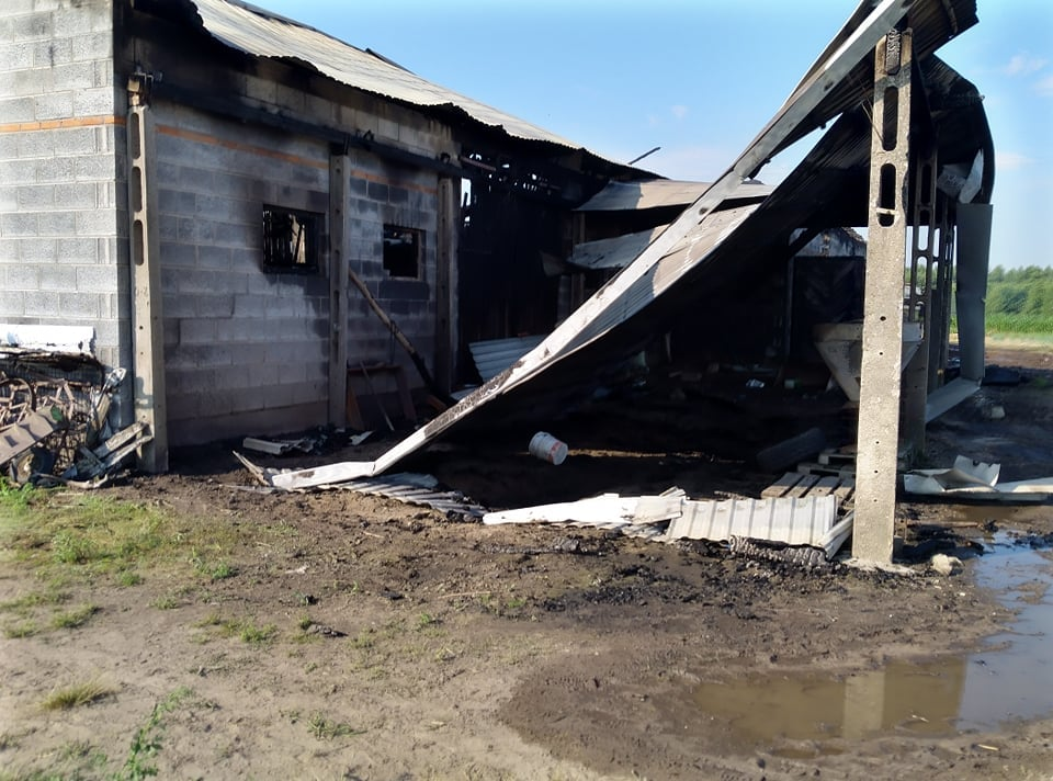 [ZDJĘCIA] Pożar strawił gospodarstwo. Pogorzelcy potrzebują pomocy - Zdjęcie główne