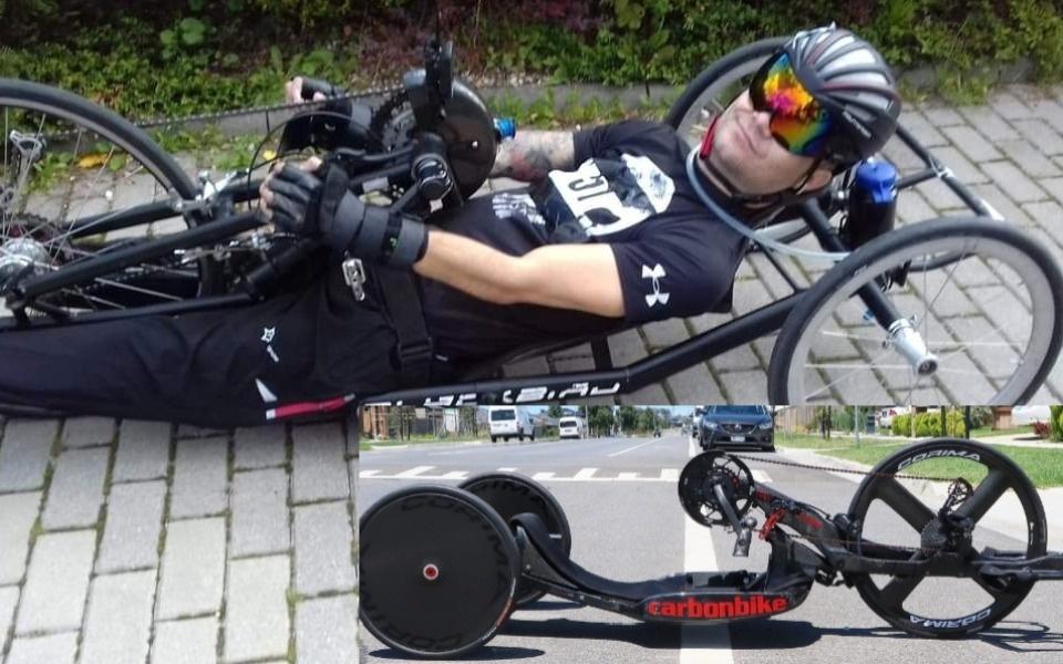 Uległ strasznemu wypadkowi. Krystian zbiera na specjalny rower, by wystartować w Igrzyskach Paraolimpijskich - Zdjęcie główne