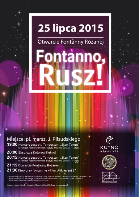 """""""Fontanno Rusz!"""" - Zdjęcie główne"""