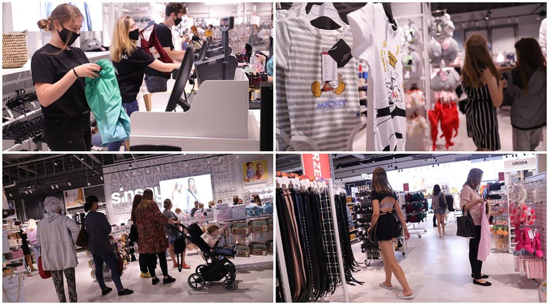 Otwarcie nowego sklepu w Kutnie. Sporo ludzi w pasażu przy Żwirki i Wigury [ZDJĘCIA] - Zdjęcie główne
