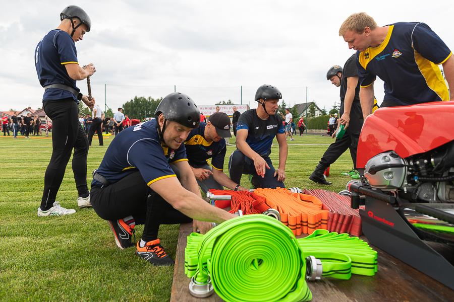 [ZDJĘCIA] Strażacy z Kutna na Mistrzostwach Województwa Łódzkiego! Jak im poszło? - Zdjęcie główne