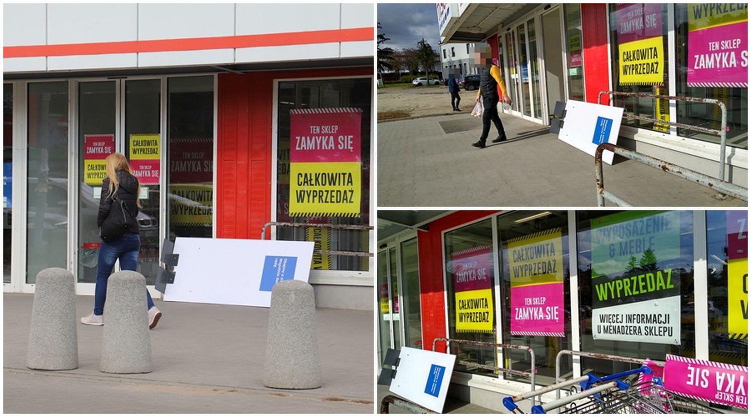 Zamykają znany sklep, zorganizowali wielkie wyprzedaże. Co pojawi się na jego miejscu? [ZDJĘCIA] - Zdjęcie główne