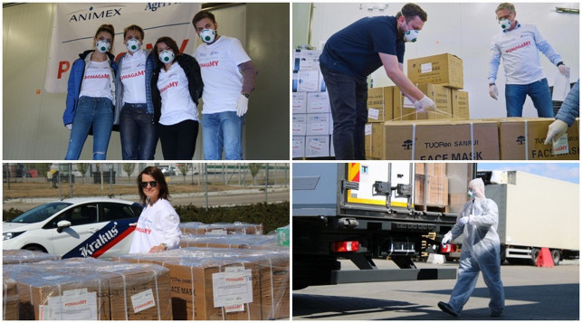 [ZDJĘCIA] Animex i Agri Plus wspierają szpitale! Wśród nich placówka z Kutna - Zdjęcie główne