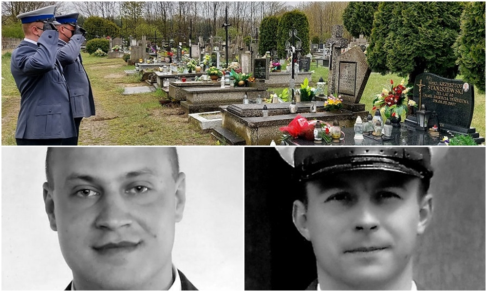 Od tego wypadku minęło już 14 lat. Kutnowscy policjanci pamiętają o tragicznie zmarłych kolegach - Zdjęcie główne