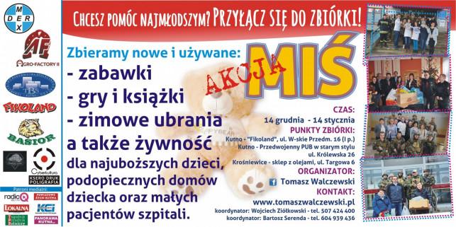Niosą pomoc najbardziej potrzebującym - Rusza Akcja Miś! - Zdjęcie główne