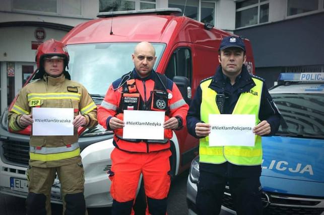 #NieKłamRatownikom: Wyjątkowa akcja polskich służb - Zdjęcie główne
