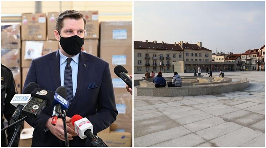 [ZDJĘCIA] Wojewoda nagle wydał komunikat i skrytykował Plac Wolności w Kutnie. Co na to Urząd Miasta? - Zdjęcie główne