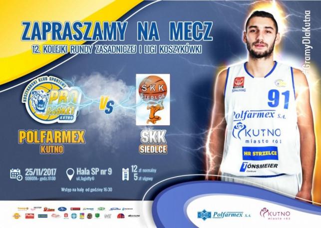 Sprzedaż biletów na mecz Polfarmex Kutno – SKK Siedlce  - Zdjęcie główne