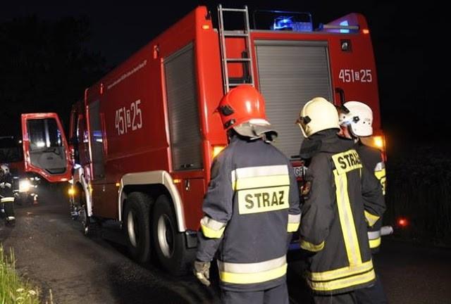 Strażacy w akcji. W domu zapalił się dach - Zdjęcie główne