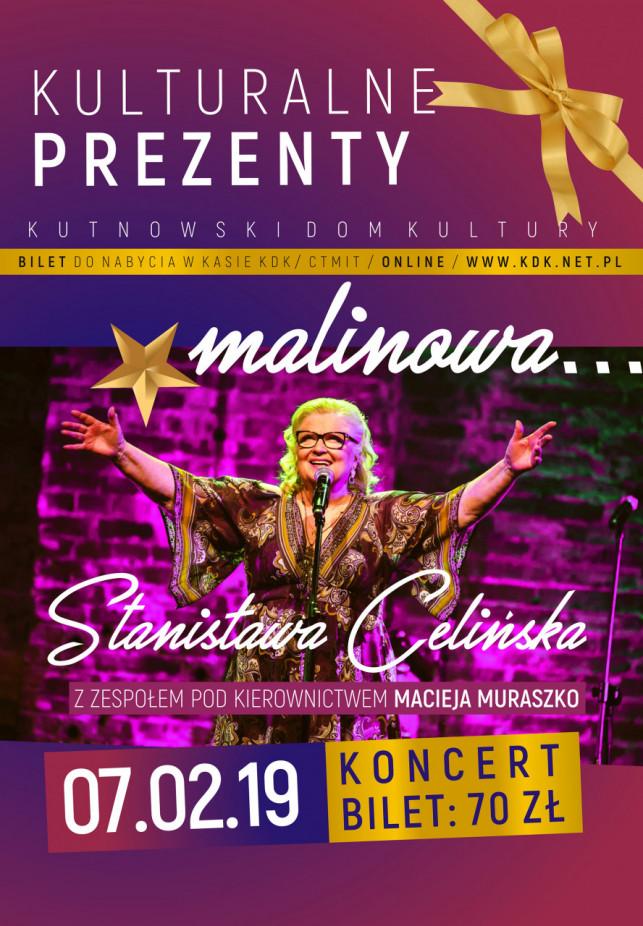 Stanisława Celińska zaśpiewa dla kutnian - Zdjęcie główne